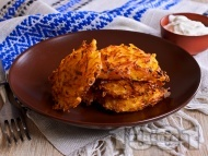 Картофени рьощи - лесни картофени кюфтета на фурна